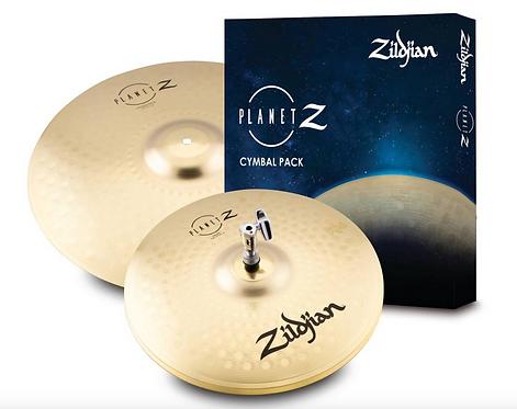 "ZILDJIAN - PACK Planet Z - Ensemble de 2 cymbales - 14""HH et 18"" CR"
