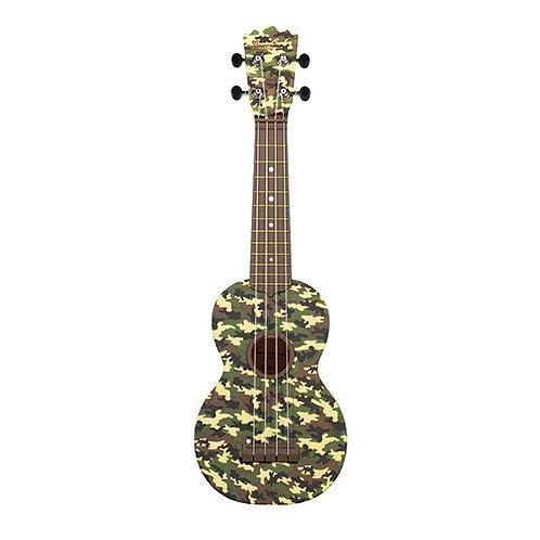 BEAVER CREEK - ULINA  CAMO - Ukulélé Soprano style Camouflage