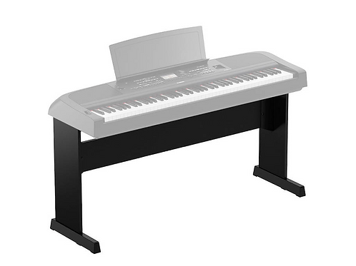 YAMAHA - L300B - Support en bois pour piano DGX-670 - noir