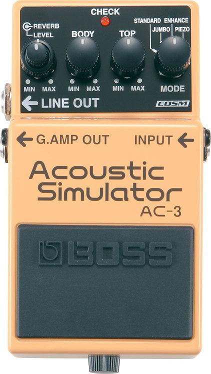 BOSS - AC-3 - Pédale d'effet simulateur acoustiq