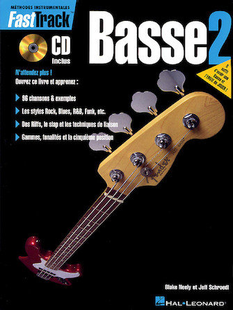 FAST TRACK BASSE - LIVRE 2 - Édition Française - Livre/audio en ligne