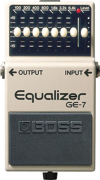 BOSS - GE-7 - Pédale d'égalisation 7 bandes