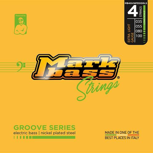MARKBASS - Groove Series - 35-100 - Ensemble de 4 cordes