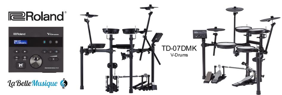ROLAND V-Drums TD-07 DMK