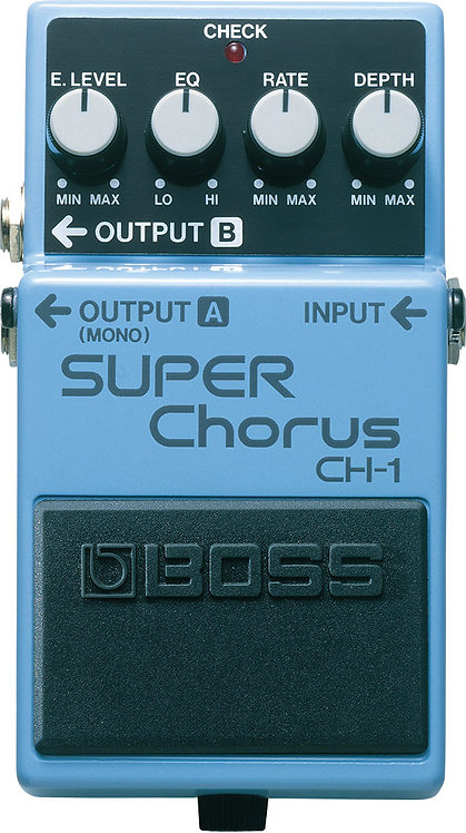BOSS - CH-1 - Pédale d'effet super chorus