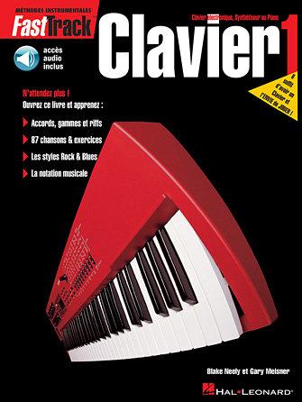 FAST TRACK CLAVIER - LIVRE 1 - Édition Française - Livre/audio en ligne