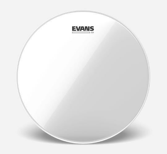 """EVANS - TOM G1 Clear - Peau de tom 13"""" - Reso"""