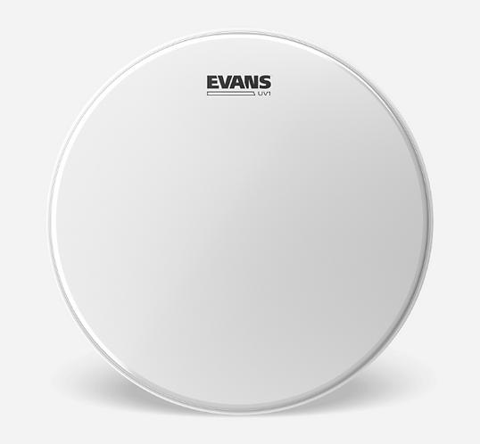"EVANS - SNARE Coated UV1 - Peau caisse claire 14"" - Batter"