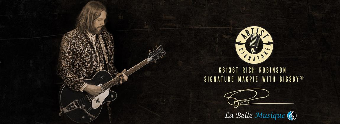 GRETSCH - Signature Rich Robinson (Black Crowes)