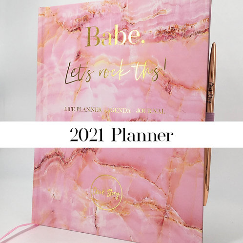 Chick Story Life Planner, Agenda and Journal in one 2021
