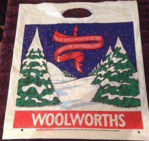 Woolworths Christmas Bag