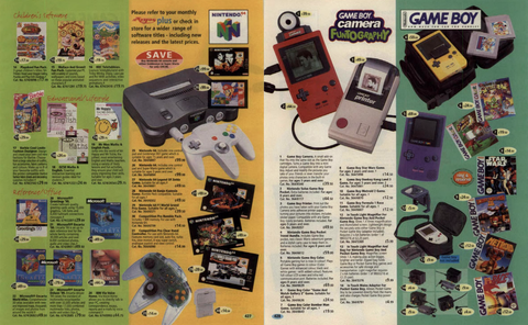 Page for Argos catalogue in the 90s