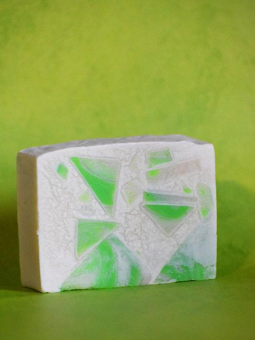 Green Geometry Artisan Soap