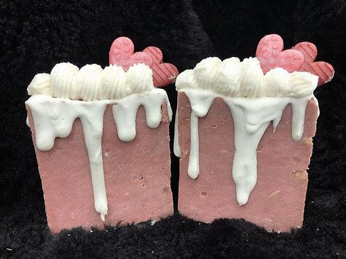 Valentine's Sweet Cake Artisan Soap