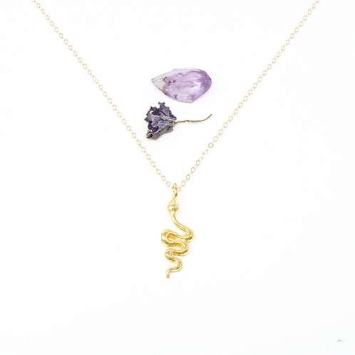 YOU ARE... MYSTICAL - GOLD VERMEIL NECKLACE