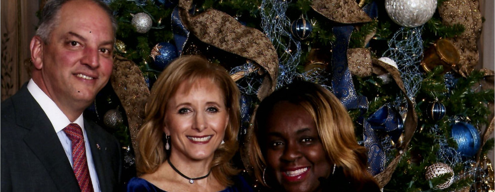 Christmas with Governor & Mrs. Edwards