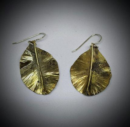 Brass leaves