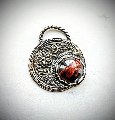 Celestial moon pendant