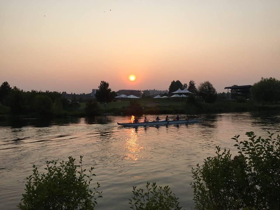 Practice on the Deschutes River