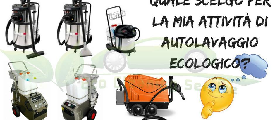 Autolavaggio a Vapore con Eco Cleaning Service