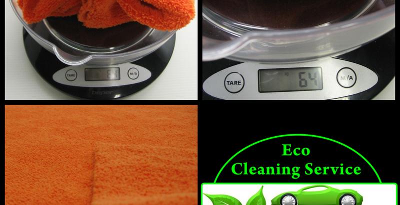 Microfibra di Eco Cleaning Service per uso professionale