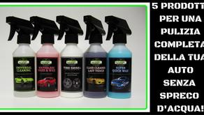 Autolavaggio ecologico e cura dell'auto