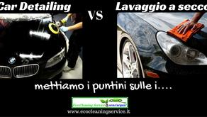 Car Detailing e Lavaggio a secco.