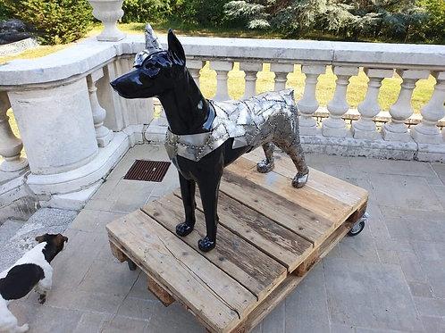 Statue doberman ou autres animaux sur demande