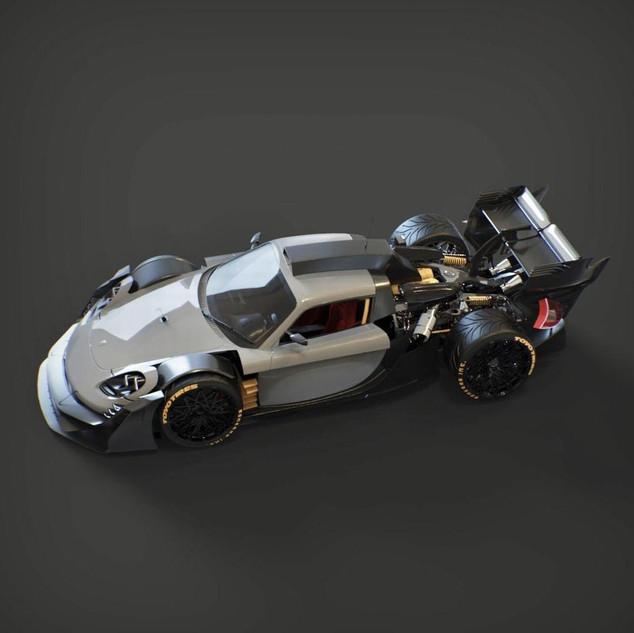Porsche carrera GT mutant