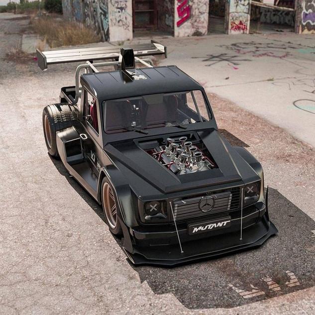 Mercedes classe G mutant