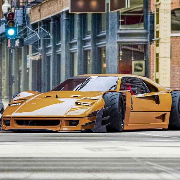 Ferrari F40 mutant