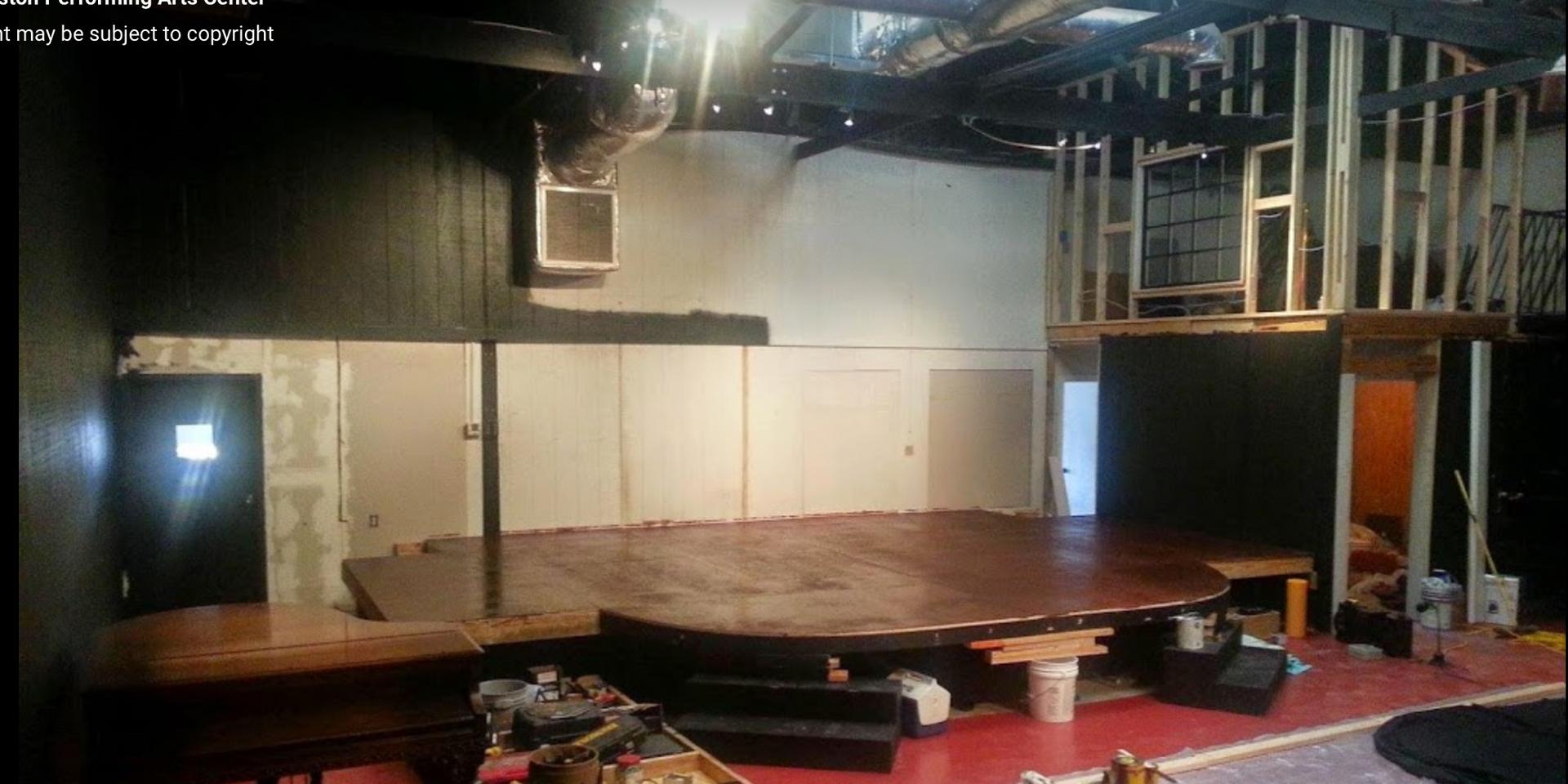 C-PAC Interior Under Construction