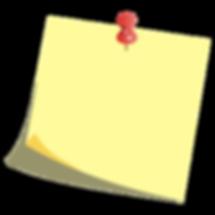 website - clipart - office - post it wit