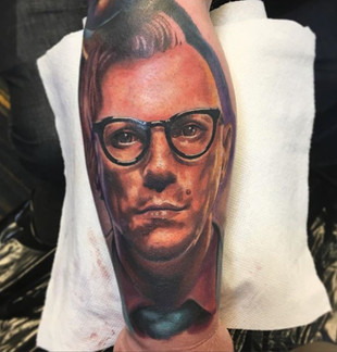 Maynrd James Keenan Tattoo