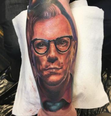 Maynrd James Keenan Tattoo
