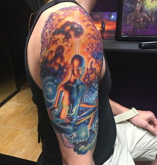 Cosmic Man Tattoo