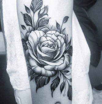 flower tattoo long island