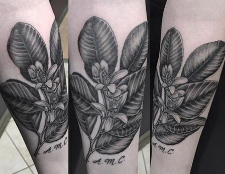 floral tattoo long island
