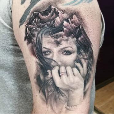 portrait tattoo artist long island