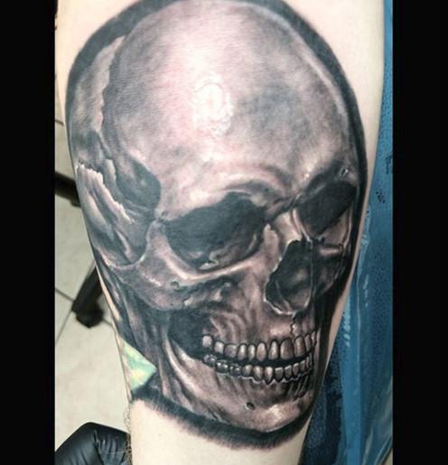 skull tattoo long island
