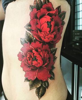 flower tattoo long beach new york