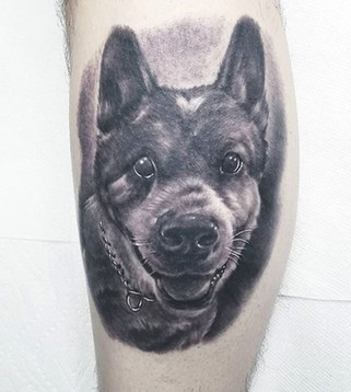 pet portrait tattoo artist long island