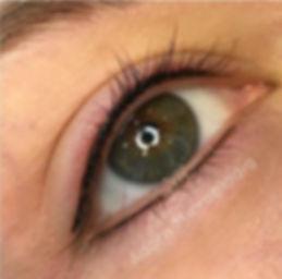 Eyeliner permanent makeup immediately af