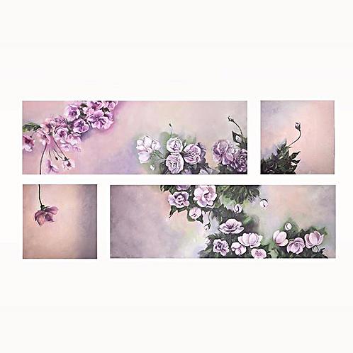 Flowery by Walaa Bashatah, 160x80cm 2017