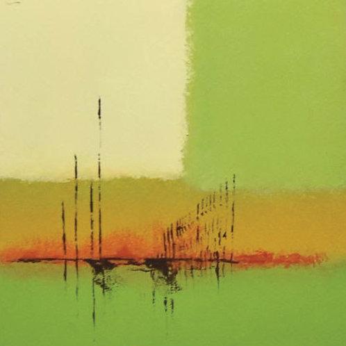 Urban Green 2 By Dr.Tagreed Aljadani 40 X 40 cm