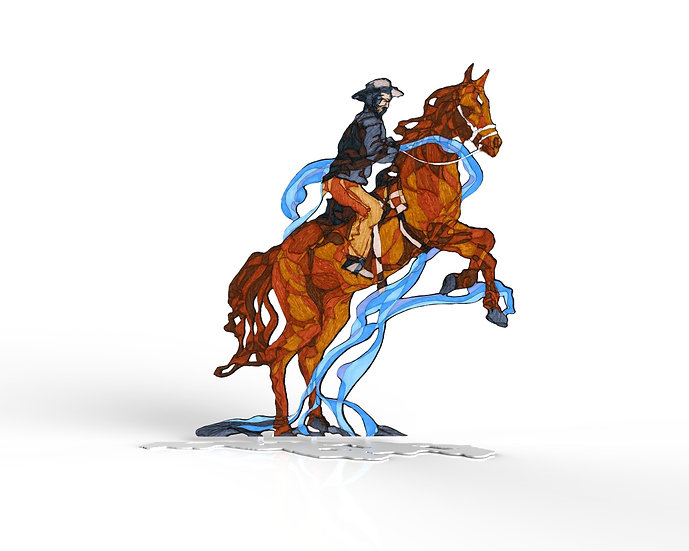 The Upright Horse