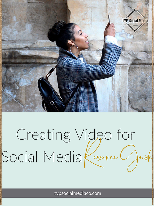 Video Resource Guide for Social Media