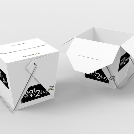 Takeaway delivery containers
