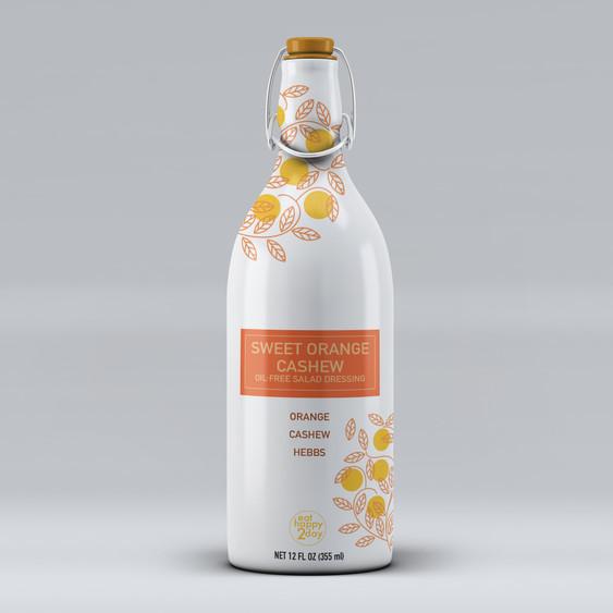 Salad Dressing Bottle Concept