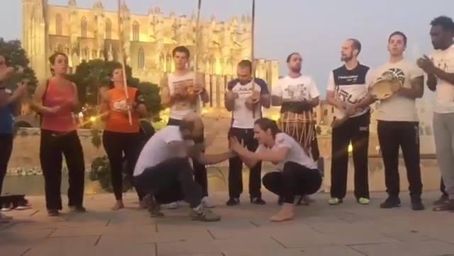 Capoeira auf Mallorca